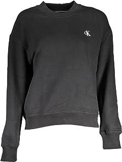 Calvin Klein womens CK EMBROIDERY REGULAR CREW NECK Sweater