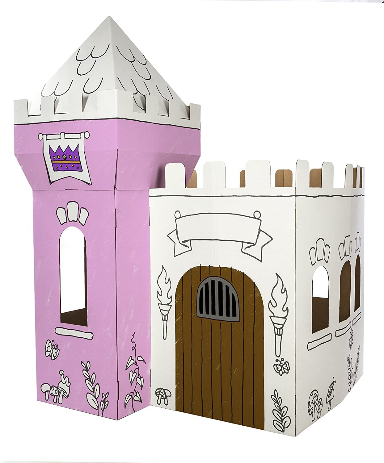 Box Creations Corrugated Castle - Markers Included by Box Creations B0040RH656 Überlegene Qualität  | Luxus