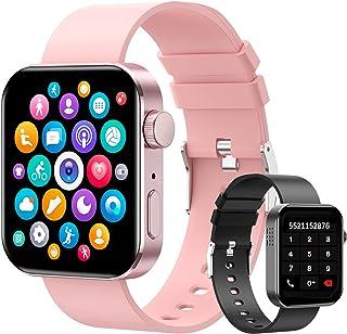 """Smartwatch, 1.72"""" Reloj Inteligente Hombre Mujer Pulsera Actividad, Reloj Inteligente Con Función de llamada Bluetooth y S..."""