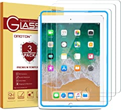 [3 Pack] iPad 9.7 6th Generation Screen Protector, OMOTON Tempered Glass Screen Protector..
