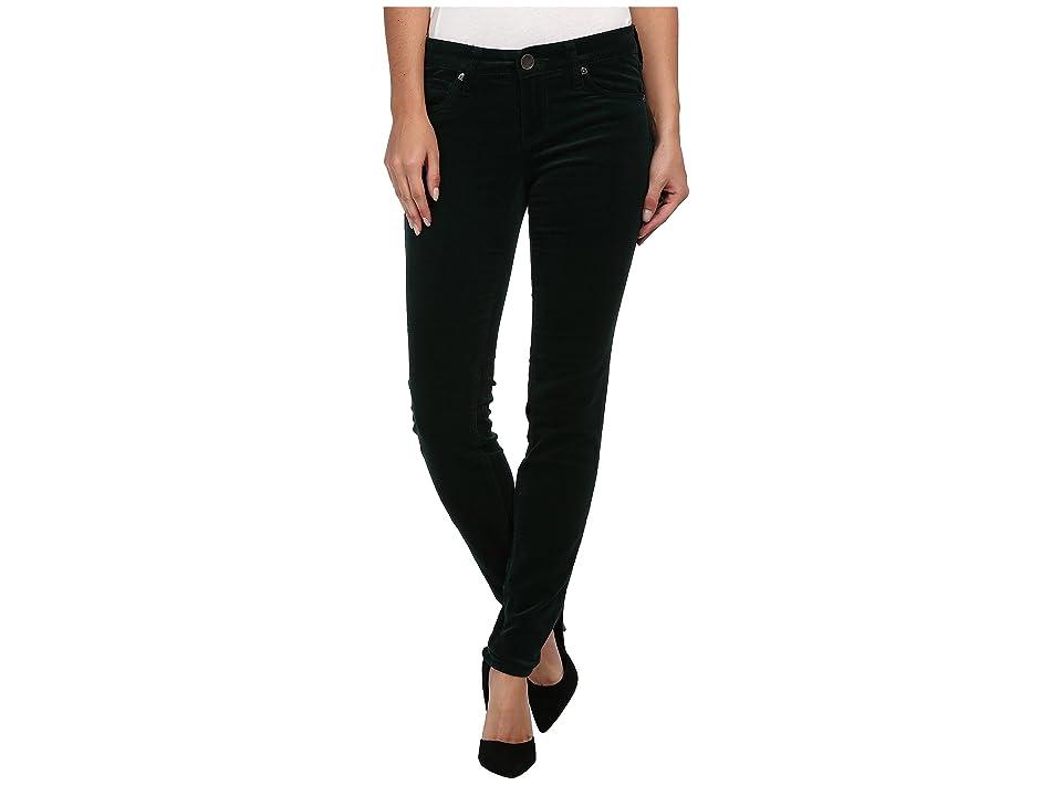 KUT from the Kloth Diana Cord Skinny Jean (Emerald) Women
