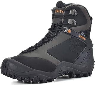Manfen Men's Ridge 8'' Waterproof Hiking Boots Trekking Trails Boot