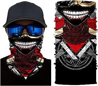 Tokyo Ghouls Neck Gaiter Headwear, Seamless Bandana Tube Sun Face Mask,UV Versatile Sport Headband Bandana for Men Women Dust Outdoor Climbing Camping Hiking Fishing Running Cosplay