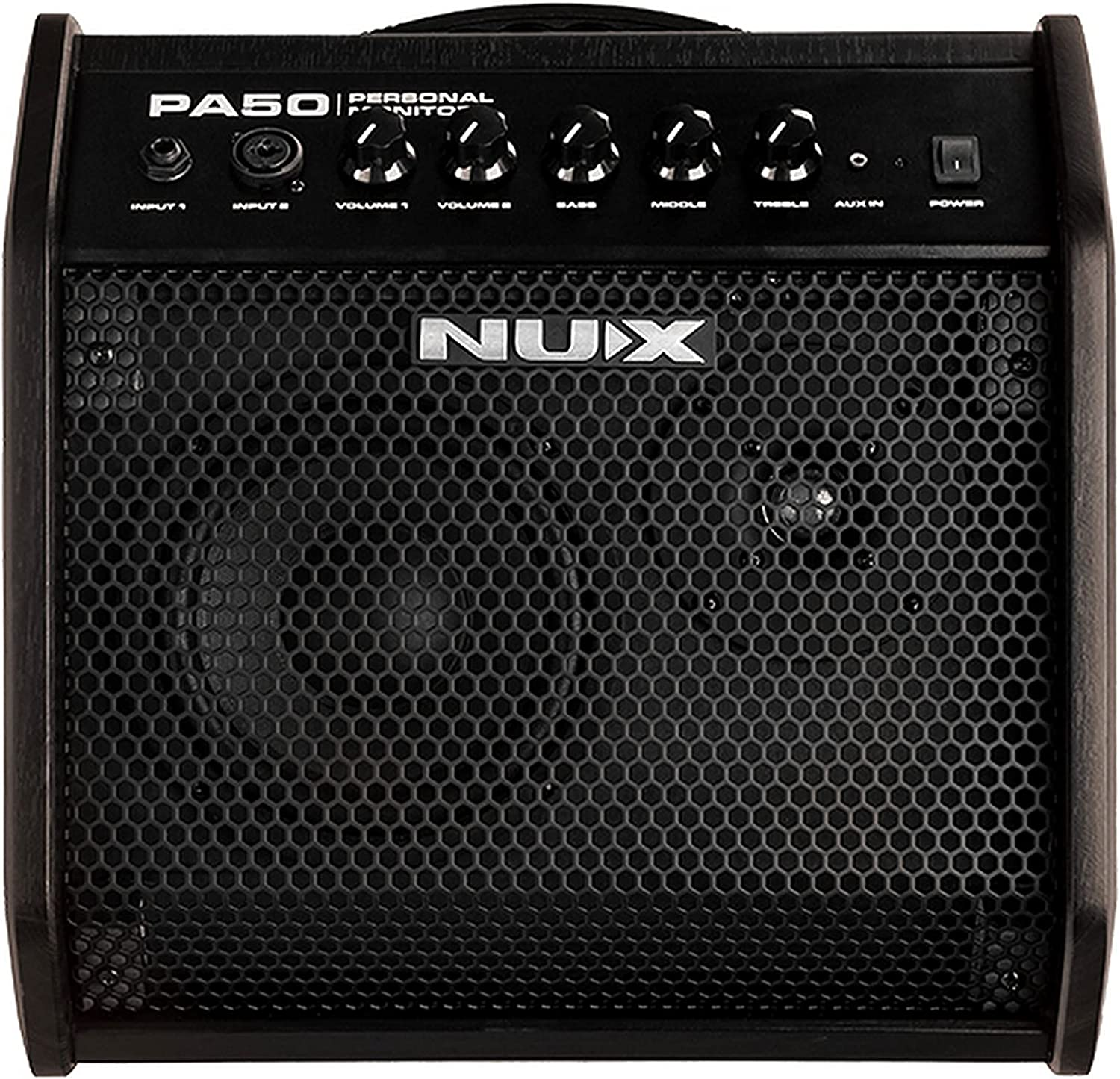 Large Super Special SALE held special price NUX PA-50 Personal Monitor 50 Watt 2 Channel Amplifier