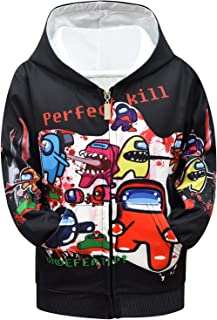 Sumeca Novelty Hoodie Jacket with Pocket for Boys Girls Men and Women
