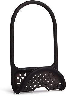 UMBRA Sling Caddy. Porte-éponge Sling. En plastique souple. Coloris noir. Dimension 26x11x0.8cm.