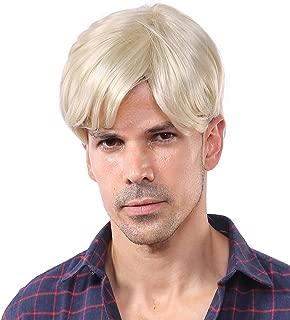 blonde male wigs
