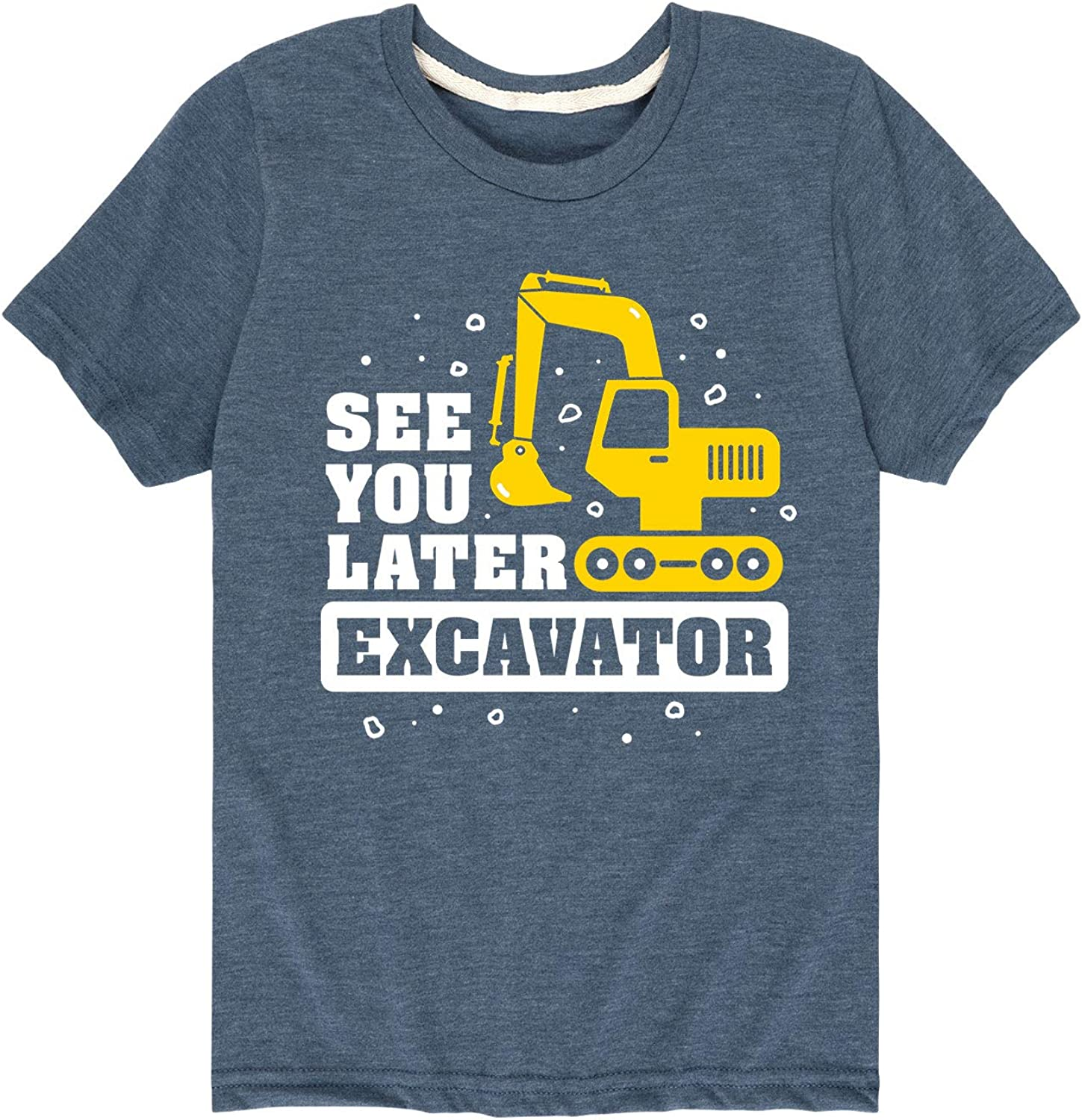 Country Casuals See You Later Excavator - Toddler Short Sleeve Graphic T-Shirt