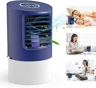 Condizionatore, TedGem Condizionatore Portatile, Mini Condizionatore, Cooler Condizionatore, 4 in 1 Mobile Air Cooler, Umi...