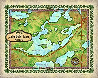 Best lake belle taine map Reviews