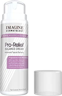 Bio-Identical USP Progesterone 3000mg 50% More Value Size 5floz Wild Yam 1Pump=1Dose Pro-Relief Cream Paraben Free 150ml 150pumps No Risk, Return Unused Portion for Any Reason Within 90 Days