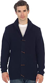 Gioberti Men's Toggle Button Cardigan Knitted Sweater