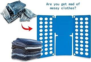 Chic Product Unique Design Laundry Organizer Clothes T Shirt Folding Flip Board Practical Folding Board for Women or Men