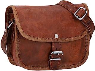 """Gusti nature - Borsa a tracolla in vera pelle""""Mary"""" borsa da donna piccola borsetta in stile vintage (XS)"""