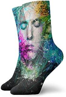 Eminem Herren - Calcetines informales, suaves, transpirables, unisex