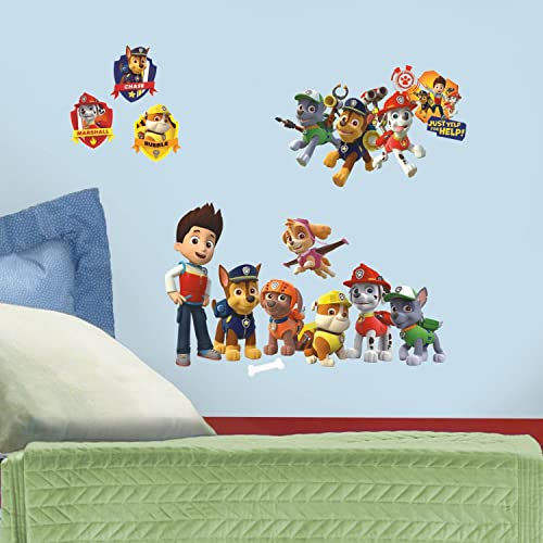 Roommates Paw Patrol Wall Decals 6 Decals Roommate/'s