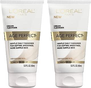L'Oreal Paris Skincare Age Perfect Anti-Aging Cream Facial Cleanser, 5 Fluid Ounce