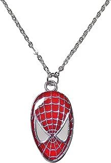 spiderman necklace pendant