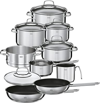 Rösle Elegance Stainless Steel Cookware Set, 10 Piece