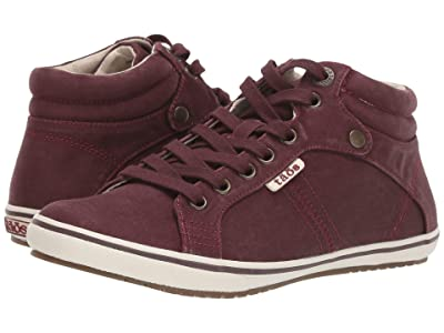 Taos Footwear Top Star (Bordeaux Distressed Canvas) Women