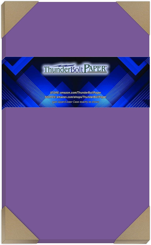 50 Bright Purple Grape 65# Cardstock 8.5