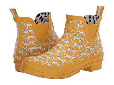 Joules Wellibob Chelsea Boot (Gold Dog) Women
