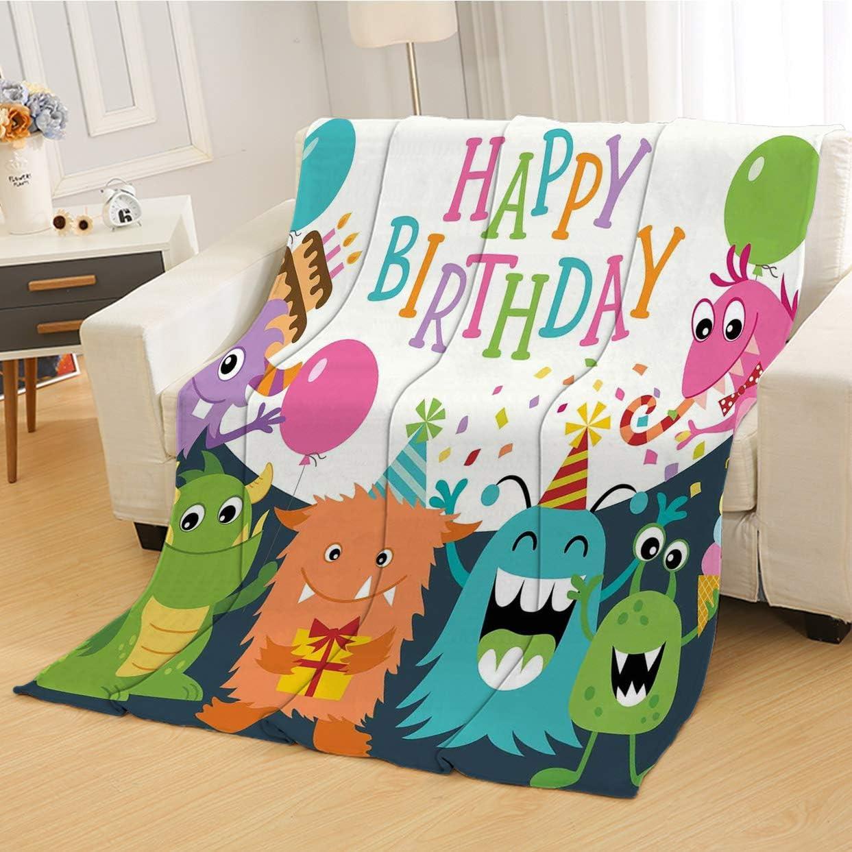 RLDSESS Birthday Warm King Bed Blanket All Season OFFicial Kids Omaha Mall