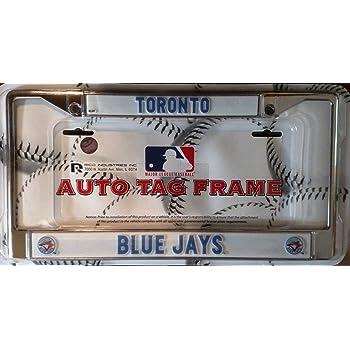 New York Mets NEW BOLD Design Chrome Frame Metal License Plate Tag Cover Baseball