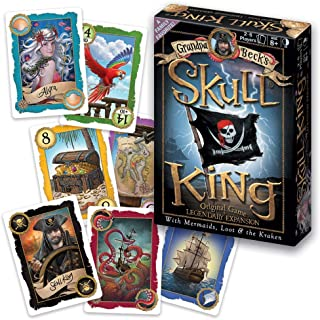 Grandpa Beck's Games Skull King - The Ultimate Pirate Trick Taking Game | from The Creators of Cover Your Assets & Cover Y...