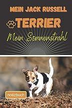Mein Jack Russell Terrier Mein Sonnenstrahl Notizbuch: Liniertes Notizbuch | Hundebild auf dem Umschlag | Jack Russell Ter...