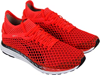 PUMA Speed Ignite Netfit 2 Mens Red Mesh Athletic Lace Up Running Shoes 97291d885