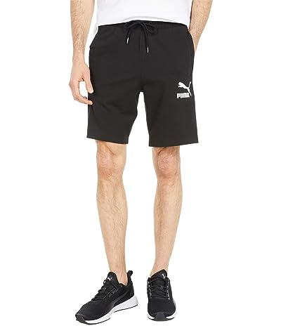 PUMA Iconic T7 8 Jersey Shorts (PUMA Black) Men