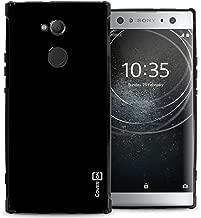 CoverON Slim Fit TPU Rubber FlexGuard Series for Sony Xperia XA2 Ultra Case, Gloss Black