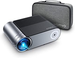VAMVO Projector, L4200 Portable Video Projector, Full HD 1080P Outdoor Movie Projector 3800 Lux with 50,000 Hrs, Compatibl...