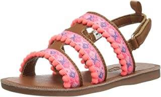 OshKosh B'Gosh Kids POCA Girl's Pom Sandal