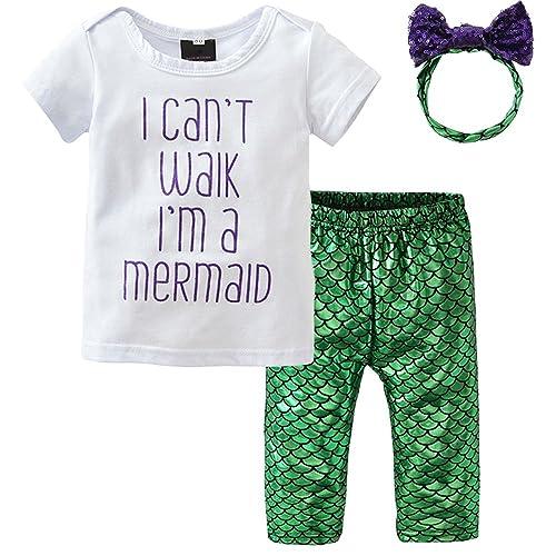 7ca74dd78014 Mermaid Baby Clothes  Amazon.com
