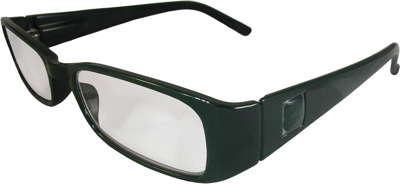 football logo eyeglasses Green Bay Packers reading glasses Packers accessories football reader glasses painted eyeglasses gift for dad