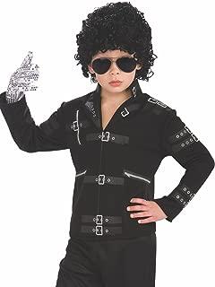 Michael Jackson Child's Value Bad Buckle Jacket Costume Accessory, Medium