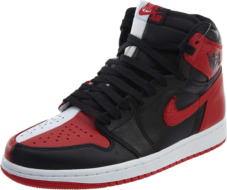 NIKE Men's Air Jordan 1 Retro High OG NRG Black/Red/White 861428-061 (Size: 9) B07D6W94Q5    Bequeme Berührung