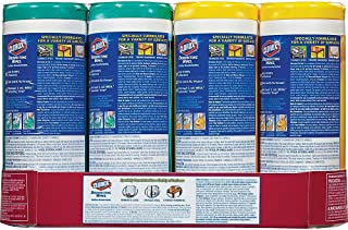 Clorox Disinfecting Wipes Value Pack, Bleach Free Cleaning Wipes, 35 Count (Pack of 4)
