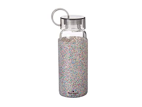 Kate Spade New York Glitter Glass Water Bottle