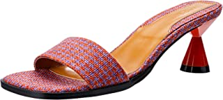 Jaggar PACE Houndstooth Slide Fashion Shoes