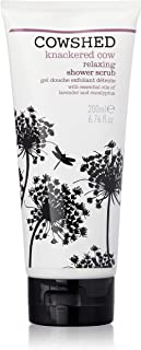 Cowshed Knackered Cow Relaxing Shower Scrub, 200ml