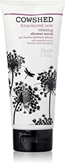 Cowshed Knackered Cow Relaxing Shower Scrub for Women, 6.76 Ounce