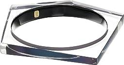 Asymmetrical Pentagon Bangle Bracelet