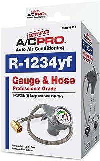 InterDynamics Certified AC Pro Car Air Conditioner R1234YF Refrigerant, AC Recharge Kit..