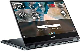 "Acer Chromebook Spin 514 - Ordenador Portátil 2 en 1 Convertible y Tactil 14"" Full HD, Laptop (AMD Ryzen 3 3250C, 8GB RAM,..."