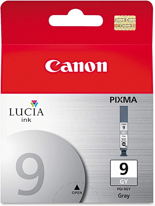 Canon Lucia PGI-9GR Gray Ink Cartridge