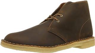 حذاء Desert رجالي من CLARKS مصنوع من جلد الشمع، الولايات المتحدة