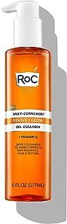 منظف جل مالتي كوريكسيون ريفييف + جلو من روك مع فيتامين C وحمض الجليكوليك، 6 أونصات